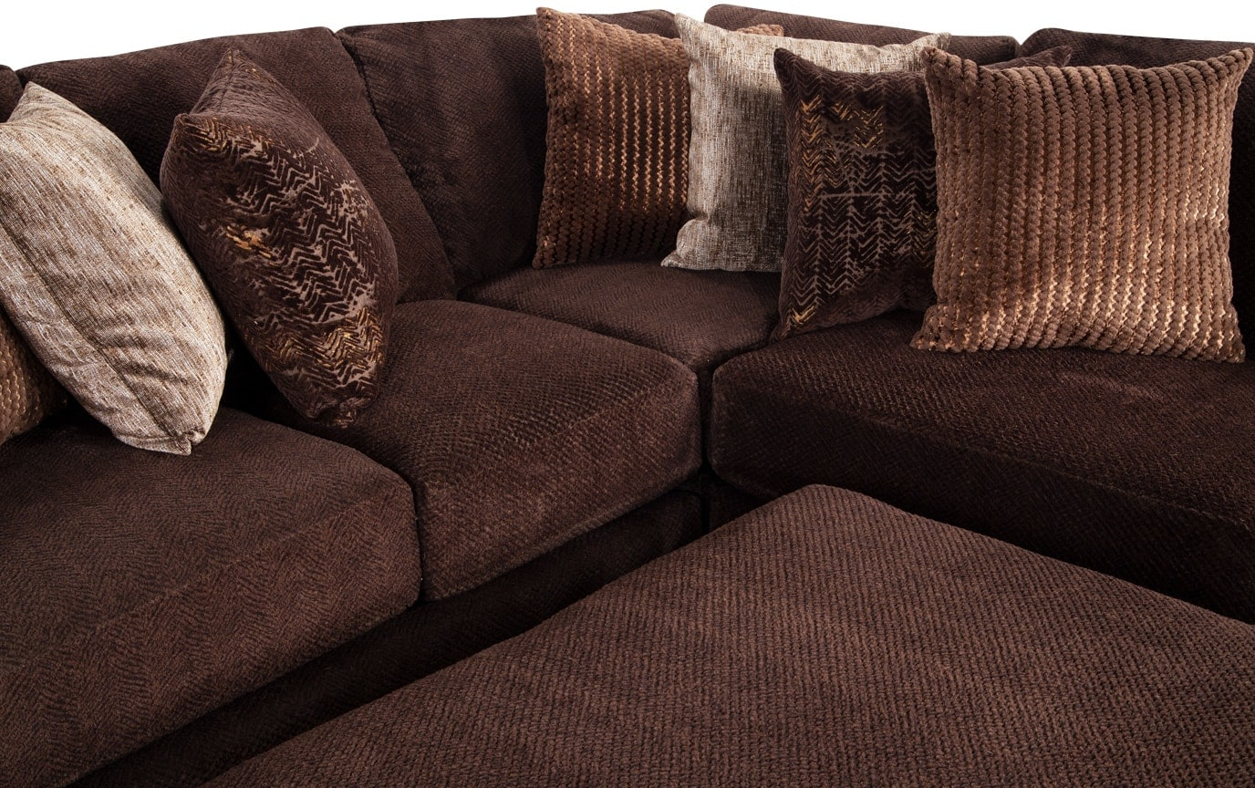 Sensation 5 Piece Left Arm Facing Sectional