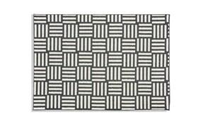 Charcoal Scratch Rug 5' x 7'