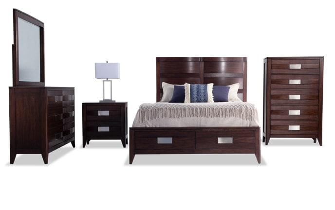 Ventura Storage Bedroom Set