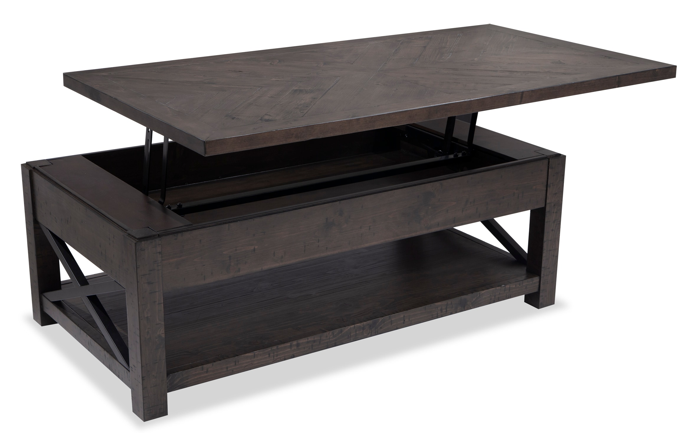 Cadence Hydraulic Lift Top Table With Glass Base Youtube [ 720 x 1280 Pixel ]