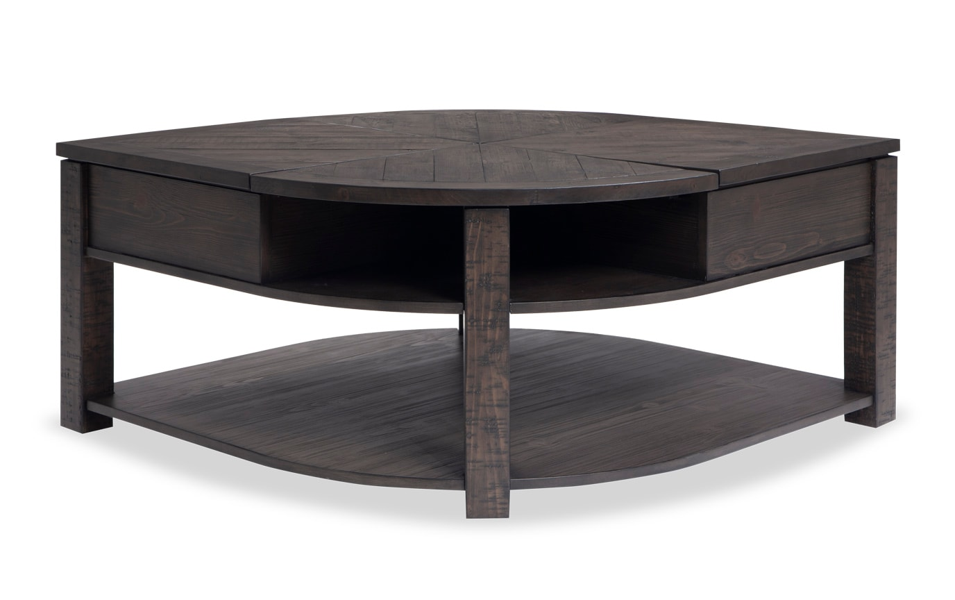 Extreme Lift Top Wedge Coffee Table Bobs Com