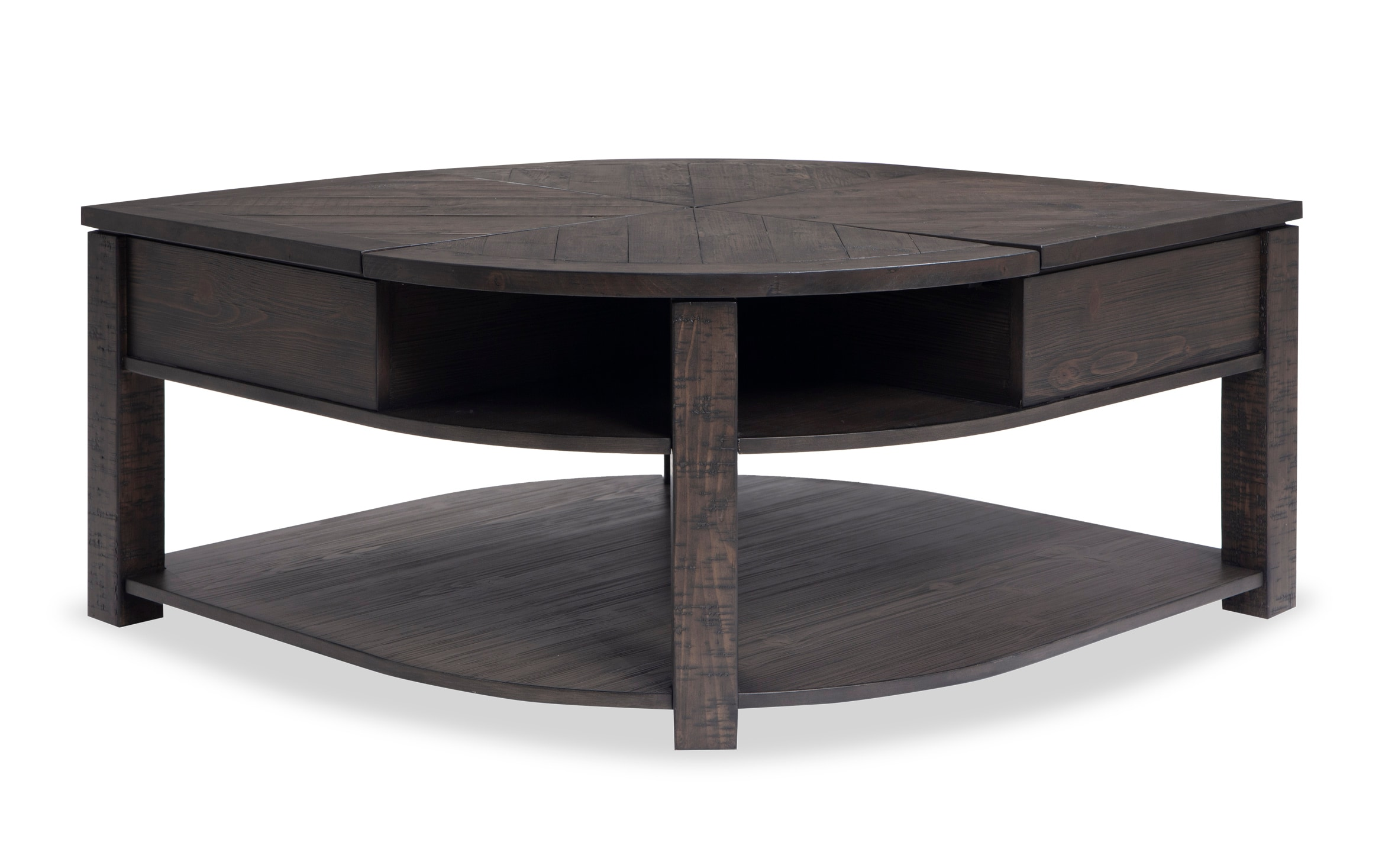 - Extreme Lift-Top Wedge Coffee Table Bobs.com