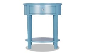 Rainey Light Blue Accent Table