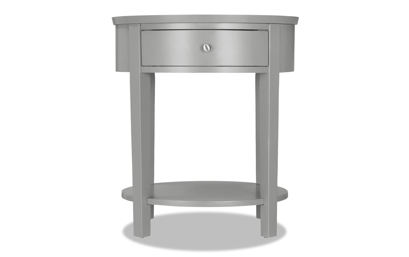 Rainey Gray Accent Table