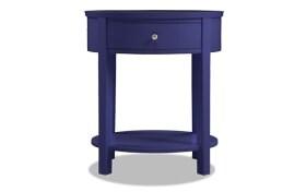 Rainey Purple Accent Table