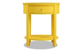 Rainey Yellow Accent Table