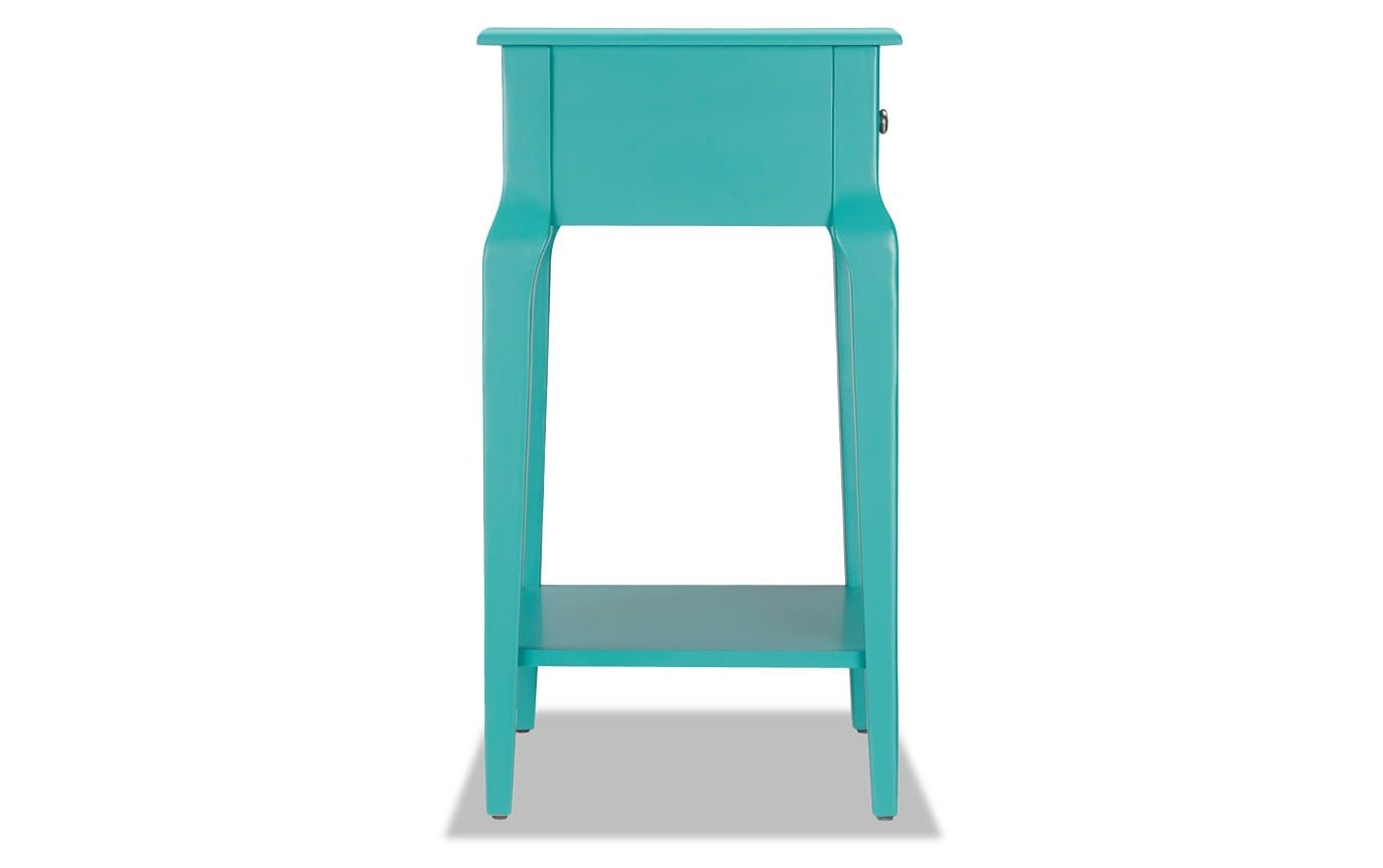 Mayfair Aqua Accent Table