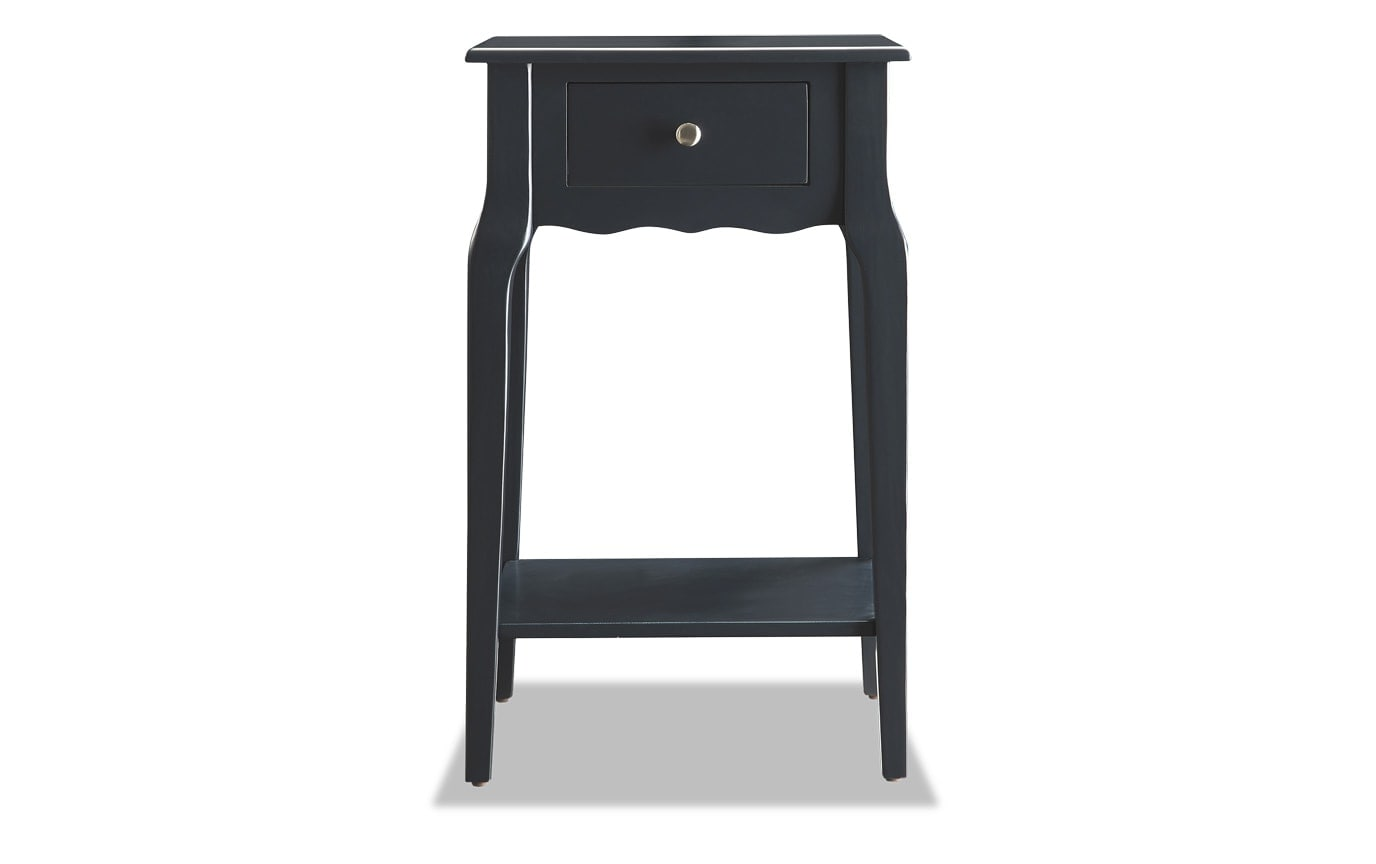 Mayfair Black Accent Table