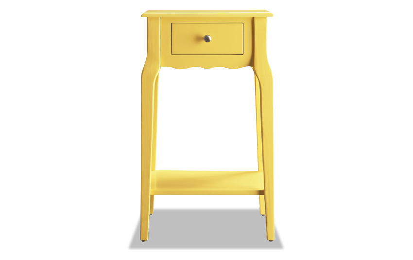 Mayfair Yellow Accent Table