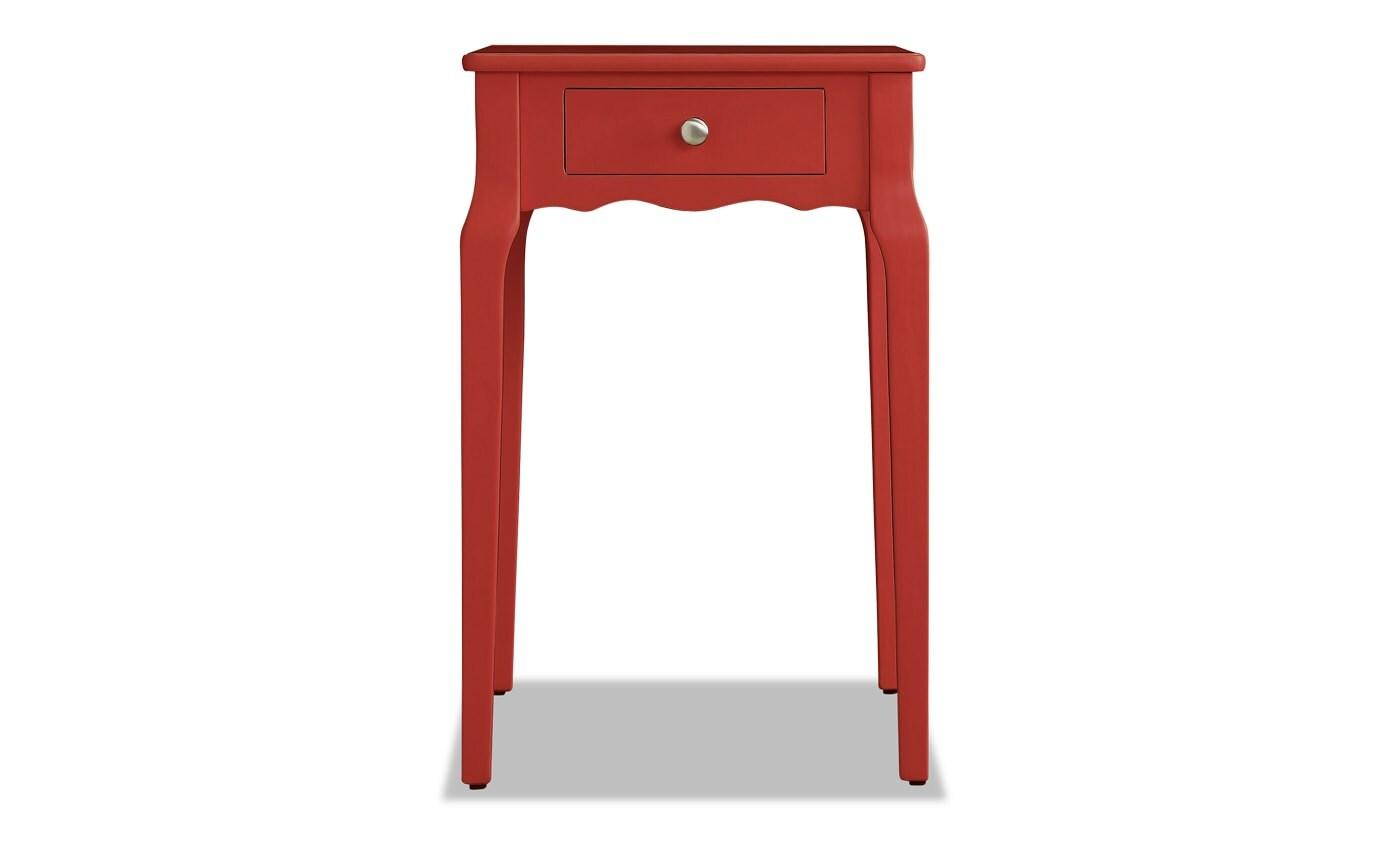 Hudson Samba Red Side Table