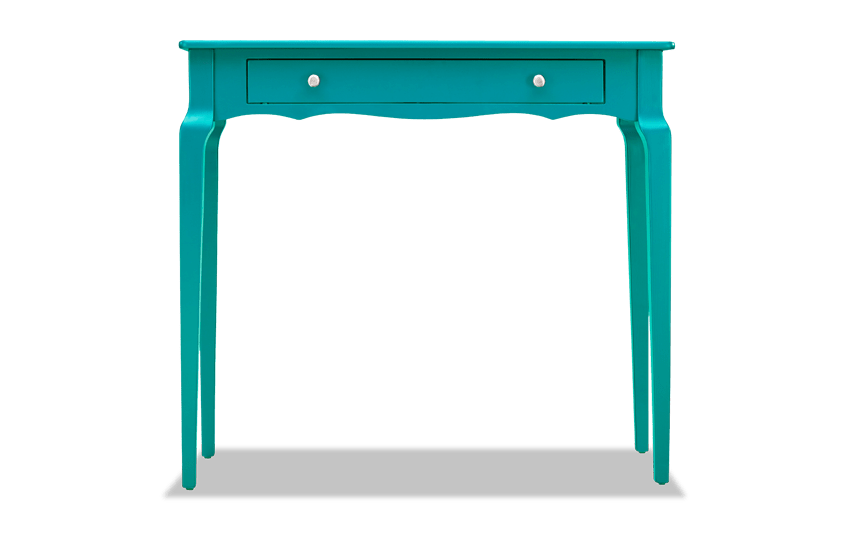 Reese Marine Green Console Table