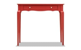 Reese Samba Red Console Table