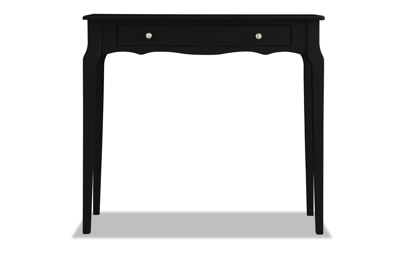 Reese Vulcan Black Console Table