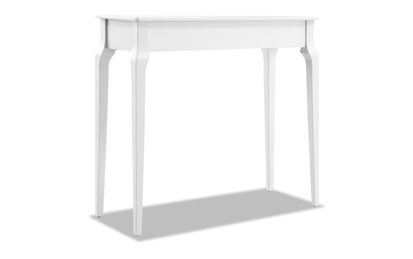 Reese White Console Table