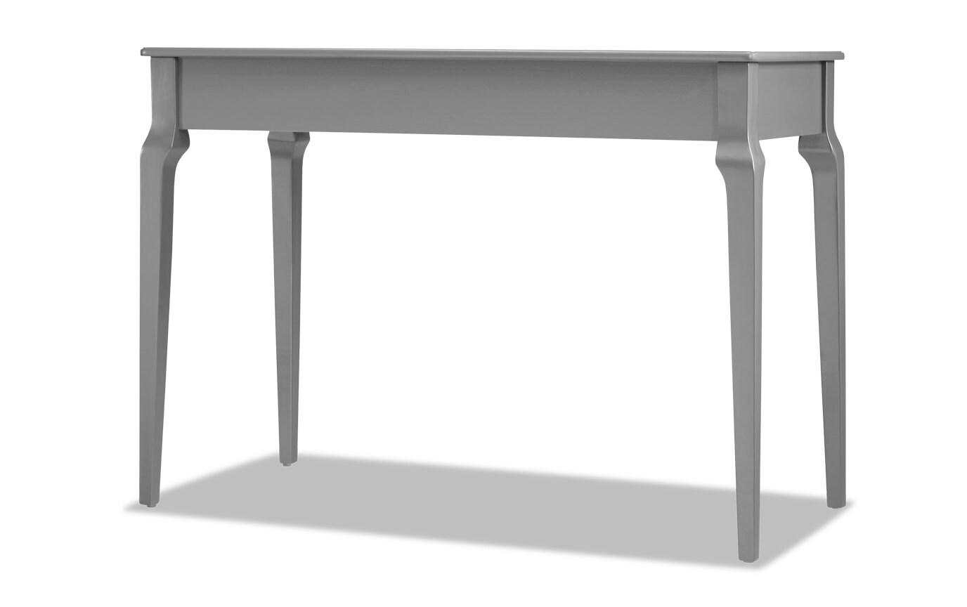Kent Frost Gray Writing Desk