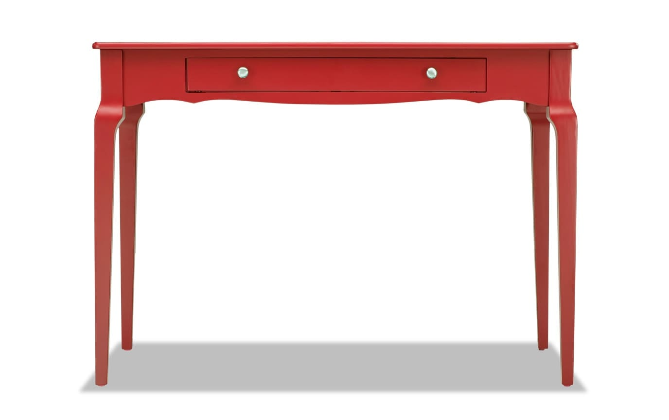 Kent Samba Red Writing Desk