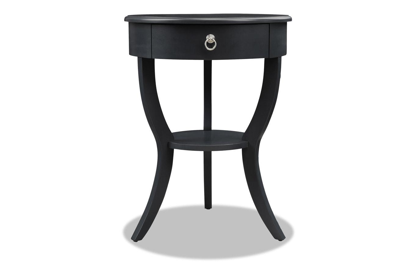 Evan Black Side Table