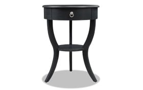Evan Black Side Table