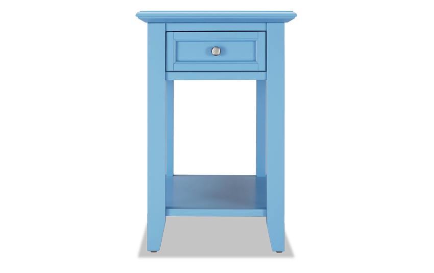 Irving Light Blue End Table