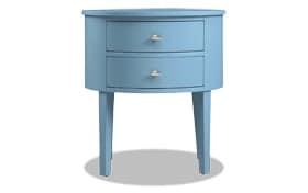Matteo Blue Side Table