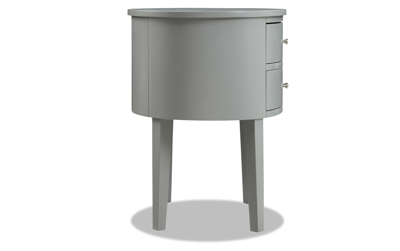 Matteo Gray Side Table