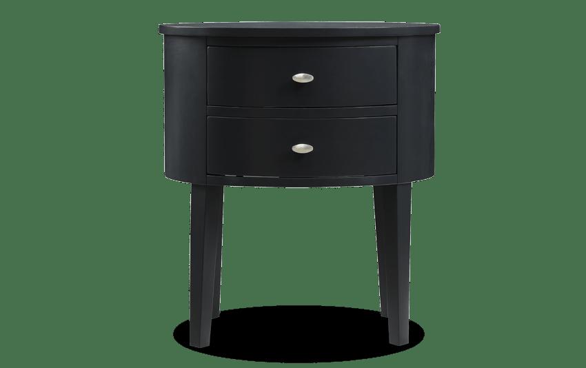 Matteo Black Side Table