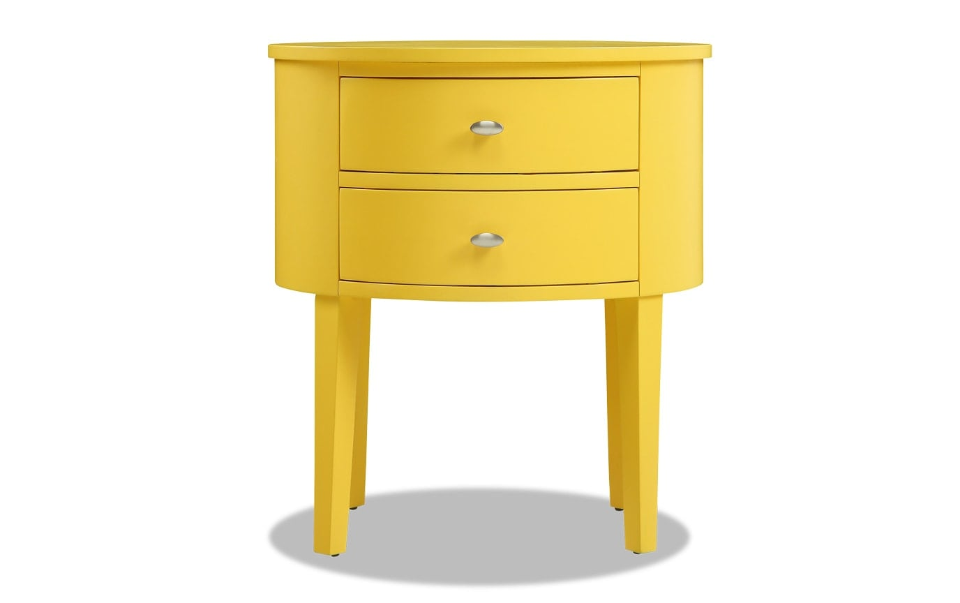 Matteo Yellow Side Table