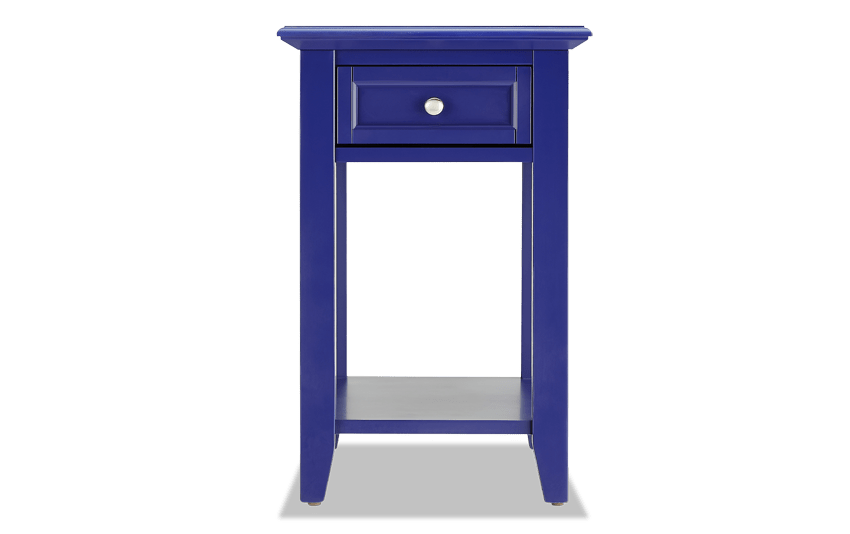 Irving Purple End Table