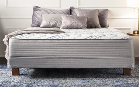 Synergy Full Extra Firm Low Profile Mattress Set