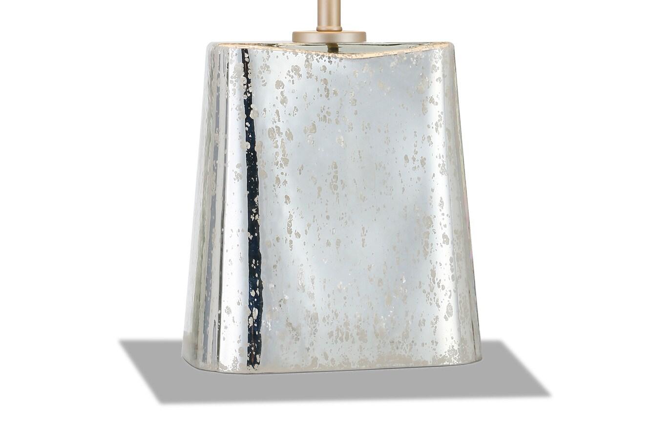 Desiree Table Lamp in Mercury Glass
