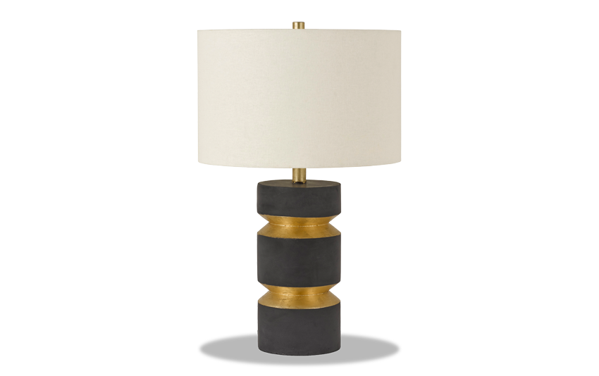 Ray Gold & Black Table Lamp
