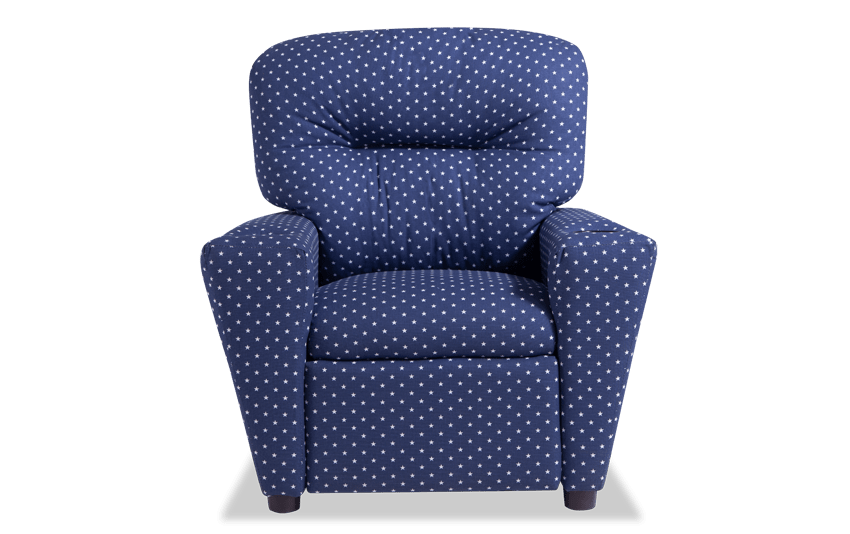 Wee-Cliners Navy Recliner
