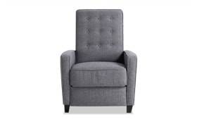 Maisie Gray Push Back Recliner
