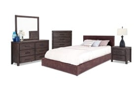 Austin Twin Upholstered Bedroom Set