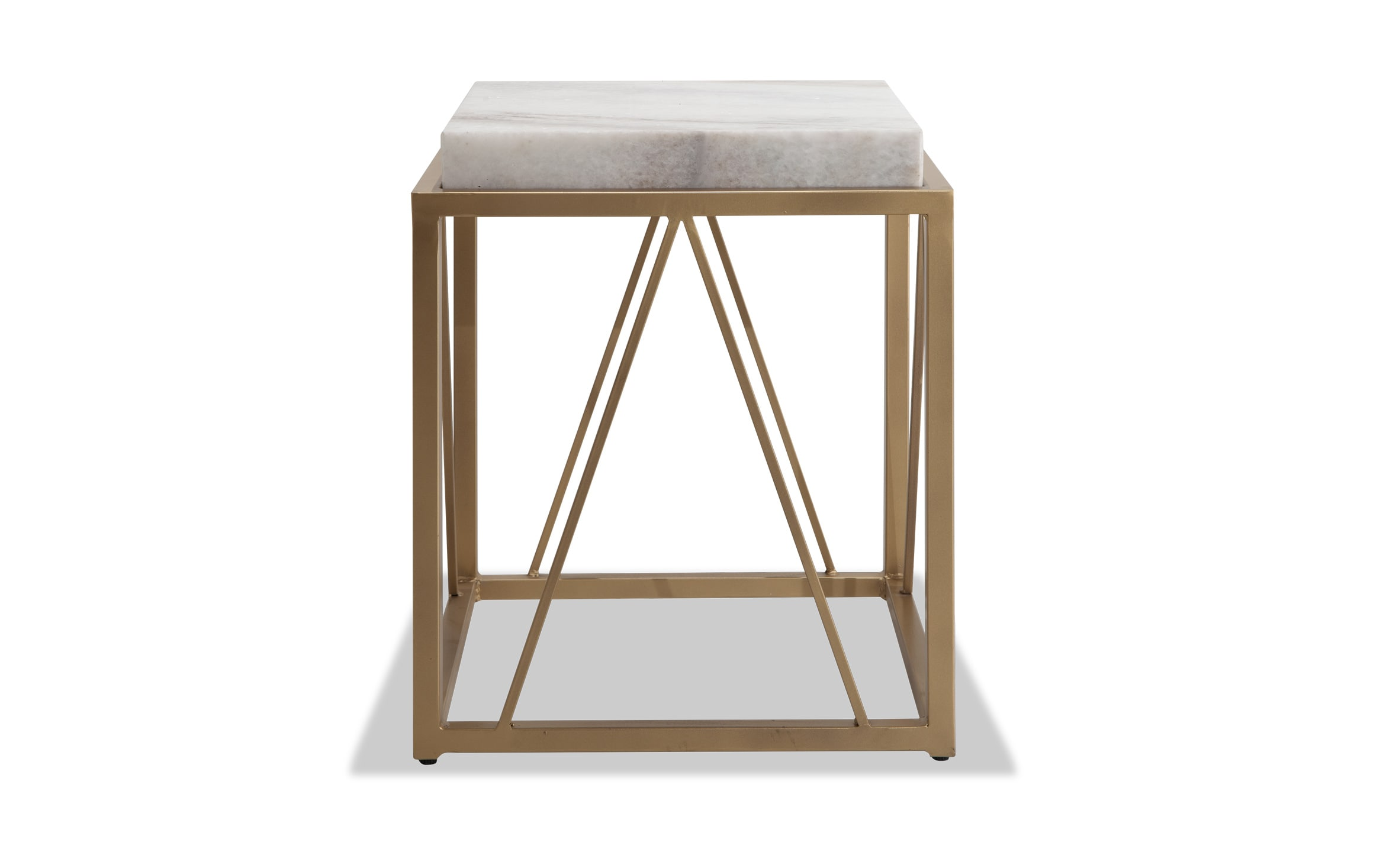 - Marble Accent Table Bobs.com