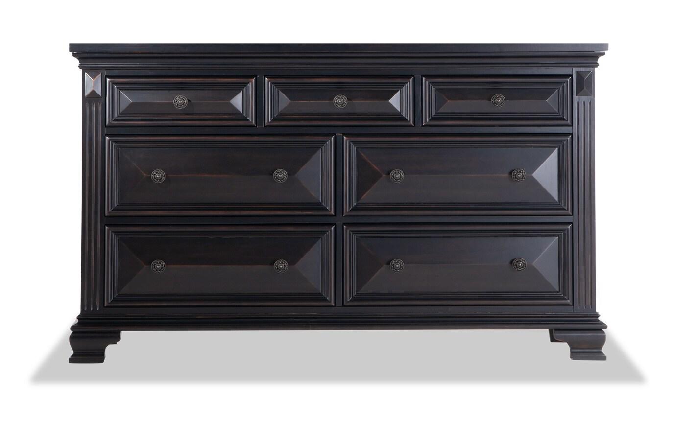 Palisades Black Dresser