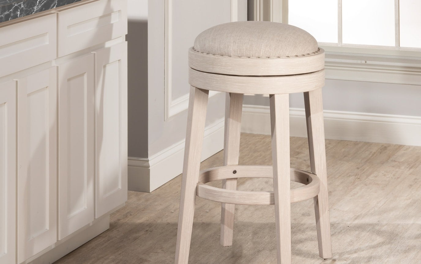 Carlos Backless Swivel Stool