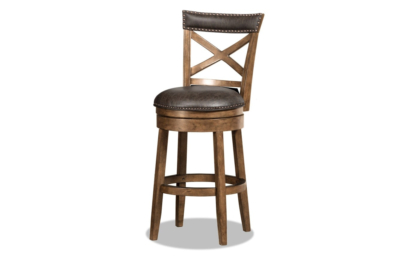 Trevor Swivel Stool