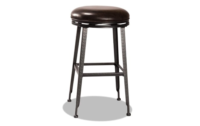 Harvey Backless Swivel Stool