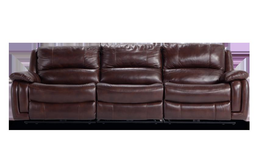 Titan Leather Power Reclining Sofa