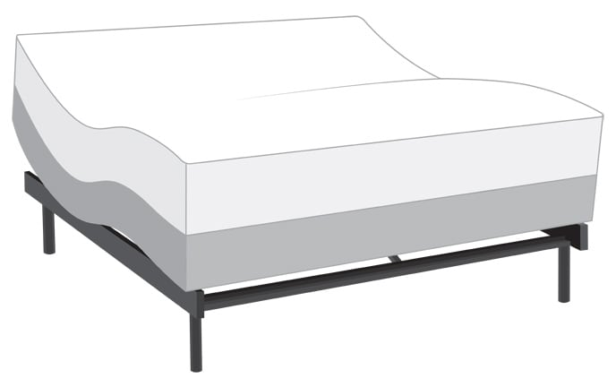 Power Bob Ultra with Bob-O-Pedic Eclipse Gel Mattress