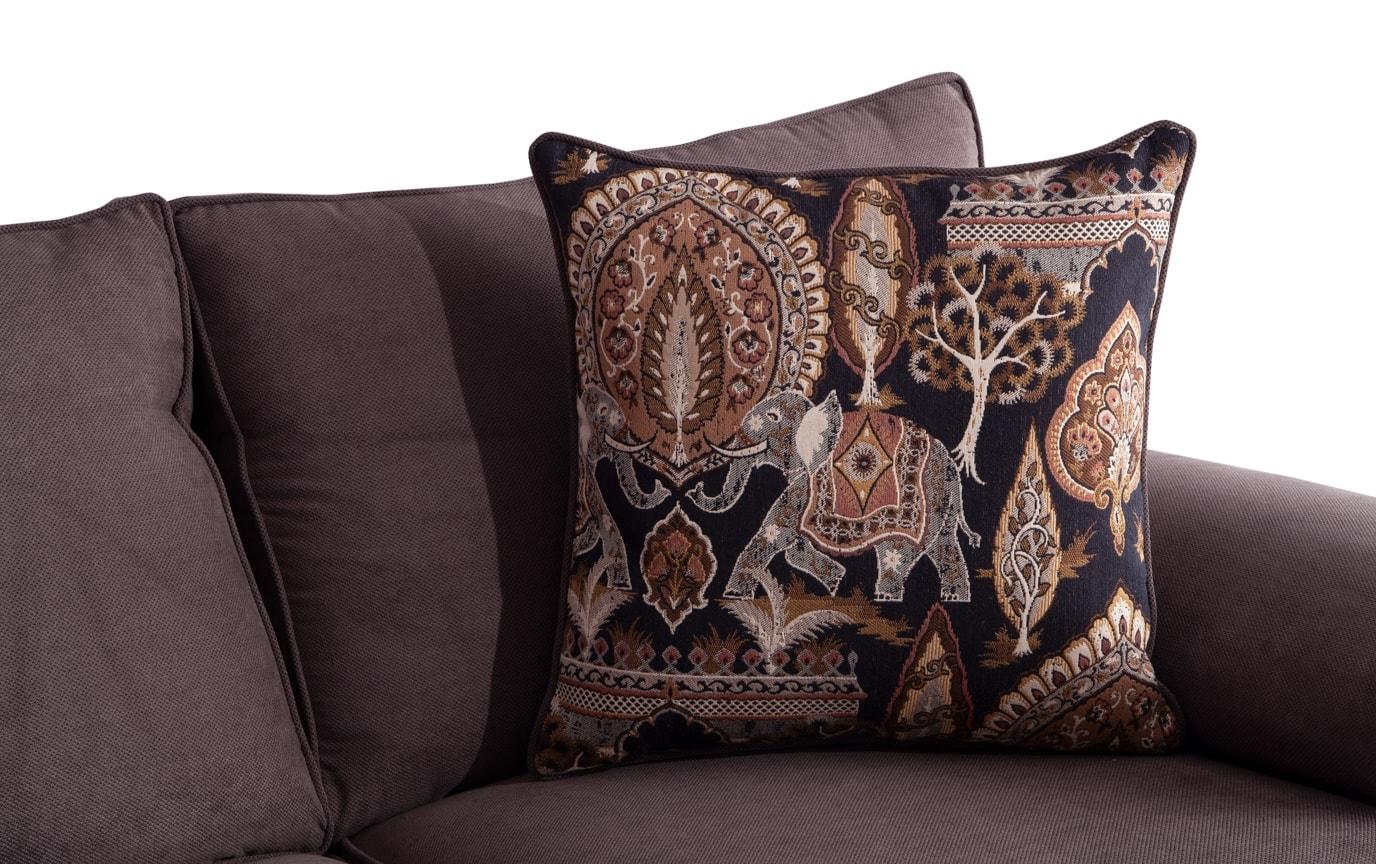 Tristan Charcoal Sofa