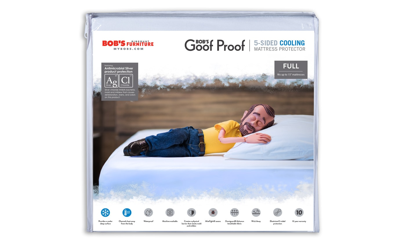 Essential Cooling Mattress & Pillow Protector Bundle
