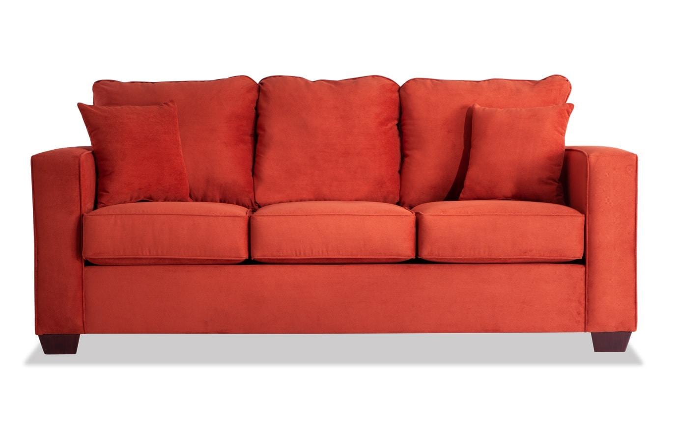 Aubree Paprika Sofa
