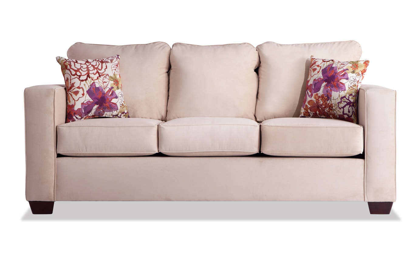 Aubree Cream Sofa