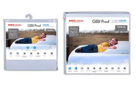 Twin XL Essential Cooling Mattress & Pillow Protector Bundle