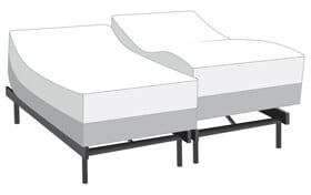Power Bob Ultra with Bob-O-Pedic Twilight Twin XL Firm Mattress