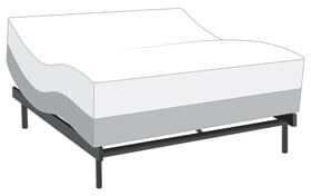 Power Bob Ultra with Bob-O-Pedic Twilight King Firm Mattress