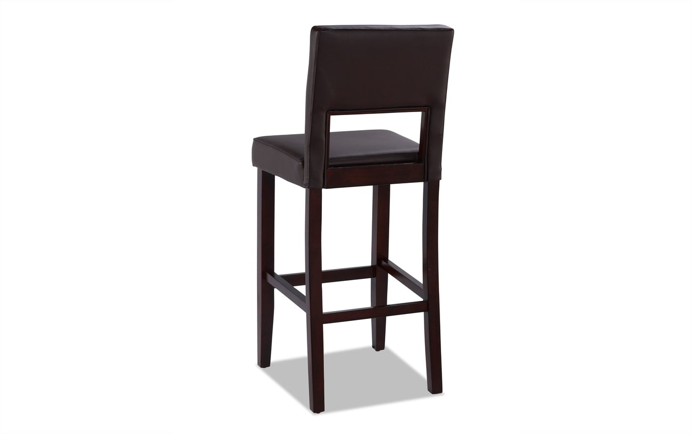 Scarlett Brown Bar Stool