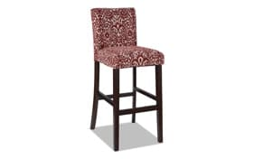 Mateo Red Bar Stool